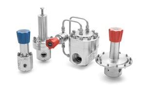 High Pressure Reducing & Back-Pressure Regulators -Image