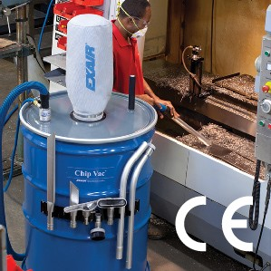 110 Gallon Chip Vac Available For Big Jobs -Image