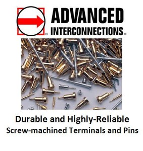Highly-Reliable Screw-Machined Terminals and Pins -Image