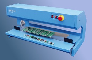 Motorized depanelizer lowers operator stress.-Image