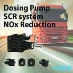 Dosing Pump for SCR System Reduces NOx on Engine-Image