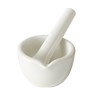 High Form Crucible Chemical-Porcelain 30mL Cap.-Image