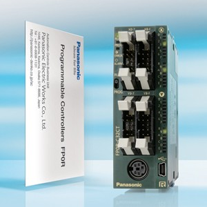 Compact Micro PLC with super high speed processing-Image