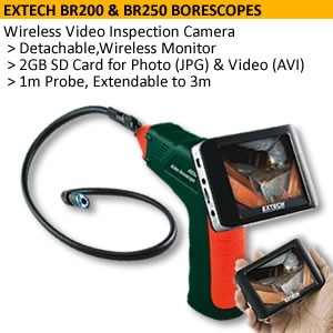 Wireless Inspection Camera/Borescope+Free Receiver-Image