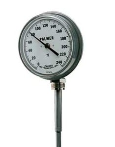 Rigid Dial Thermometer Mercury Actuated-Image