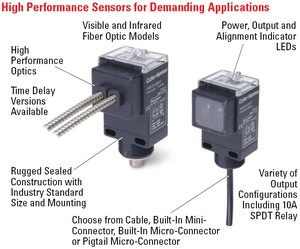 Enhanced 50 Series Photoelectric Sensors-Image
