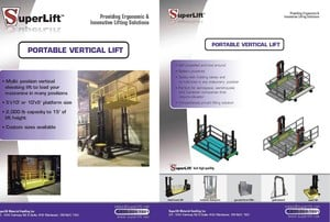 Portable Vertical Mast Lifts-Image
