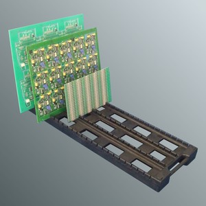 PCB work holding Tray for Board Assembly.-Image