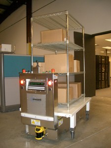 Automatic Guided Carts - Affordable Pedestal AGCs-Image