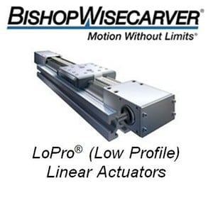 LoPro lActuators:DualVee Guide Wheel technology-Image