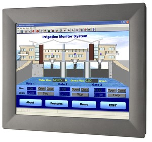 Touch Panel Computer with 4th Generation Processor-Image