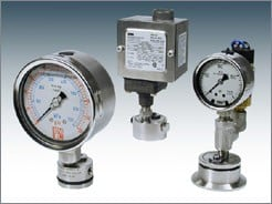 Seal Gauges& Switches For Sanitary Applications-Image