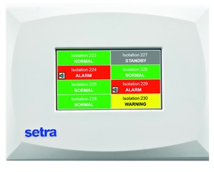 Setra Offers Multi-Room Monitoring System-Image