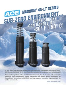 Industrial Shock Absorbers MAGNUM® Sub-Zero-Image