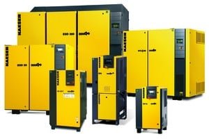 Industrial Rotary Screw Air Compressors-Image