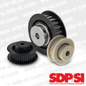 Timing Belt Pulleys for Small Pitch Timing Belts-Image