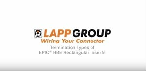 Wiring your EPIC® HBE connector from Lapp Group -Image