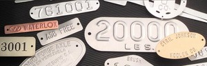Custom Metal Embossed Tags-Image
