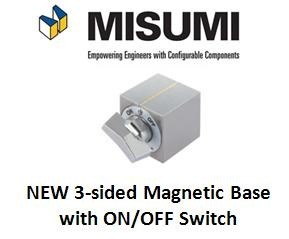New from Misumi - 3 sided Magnetic/ON/OFF Switch-Image