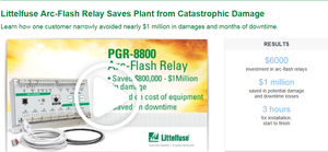 Arc-Flash Relay Prevents Catastrophic Damage-Image