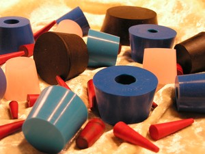 Full line of rubber products for laboratory usage-Image