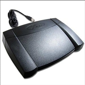 X-keys® USB Foot Pedal -Image