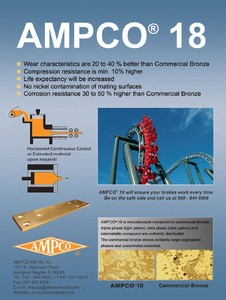 AMPCO® 18 Nickel free alloy-Image