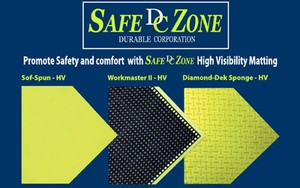 Matting...High Visibility Safe Zone -Image