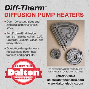 DIFF-THERM® Vacuum Diffusion Pump Platen Heaters-Image