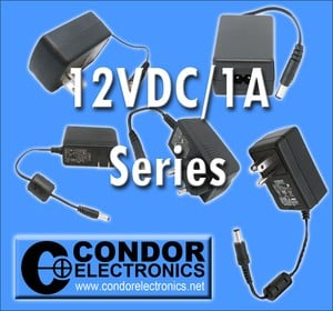 12VDC/1A External Power Supply Series-Image