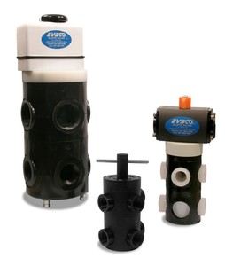 Electric Actuated Plastic Valves-Image