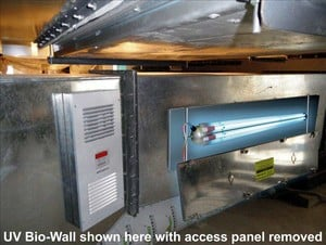 UV Bio-Wall In-Duct Air Sterilization (UVGI) -Image