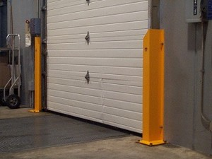 Trak-Shield and Z-Guards Overhead Door Guards-Image