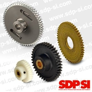 Find Stock Spur Gears in a Variety of Materials-Image
