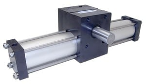 Rack and Pinion Rotary Actuator-Image