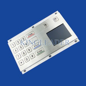 16keys metal keypad with touchpad-Image