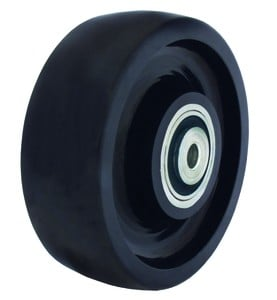 Easy, Smooth and Quiet Rolling Solid Poly Wheels!-Image