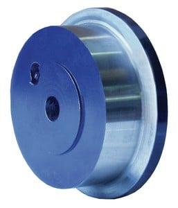 Machined Steel Flanged Wheels to Move Huge Loads-Image