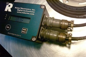 Remote Angle Display Inclinometer System-Image