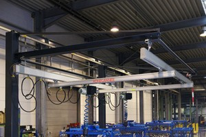 Aluminum Light Crane Systems-Image