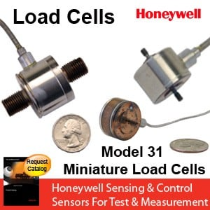 Honeywell Model 31 Miniature Load Cell -Image