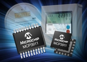 Energy-Measurement Analog Front End (AFE) MCP3911-Image