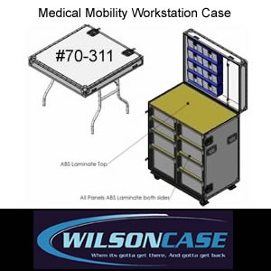 Medical Mobility Workstation Case 70-311-Image