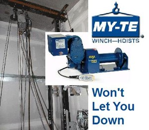 Powerhouse Winch: Ideal In Plant or Field Use-Image