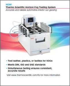 Horizon Fog Testing System From Thermo Fisher Scientific