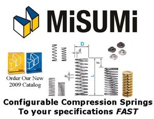 Extension Springs - Configurable from MISUMI-Image