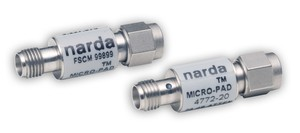 Miniature Fixed 3-dB Attenuator Covers up to 6 GHz-Image
