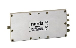 RF Power Dividers Cover 500 MHz to 8 GHz -Image