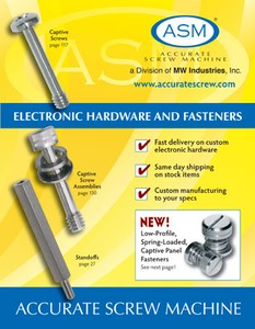 Screws, Fasteners & Electronic Hardware Catalog-Image