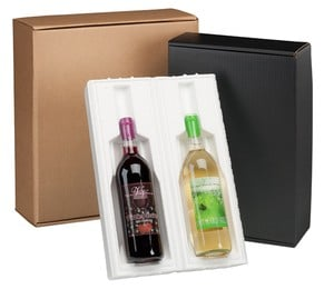 Pre-Assembled Side Load Wine Bottle Shippers -Image